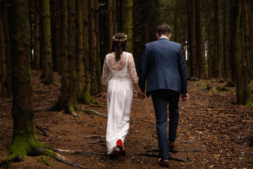 Hochzeitsfotos aufgenommen in Andorf: Fotoshhooting im Sauwald